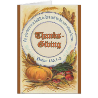 Christian Thanksgiving Cards