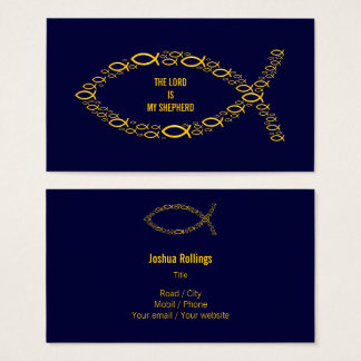 Christian | THE LORD IS MY SHEPHERD Business Card