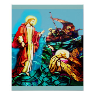 CHRISTIAN THEME COLORFUL POSTER