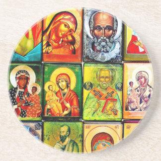 Christian Theme Religious Coaster