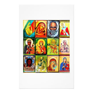 Christian Theme Religious Stationary Personalized Stationery