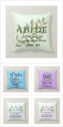 Christian Throw Pillows