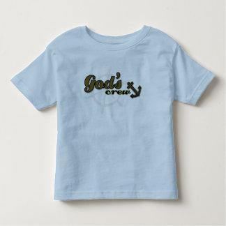 Christian toddler t-shirt - God's Crew