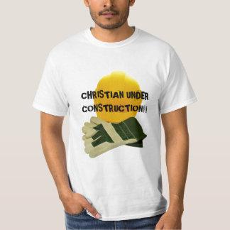 CHRISTIAN UNDER CONSTRUCTION!!... Religious shirt