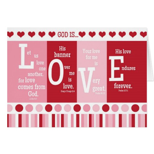 Valentine's Day Bible Verses About Love