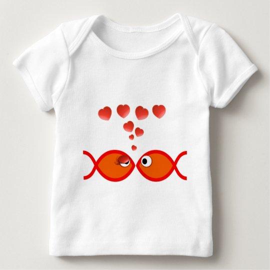 Christian Valentine Orange v2 Baby T-Shirt