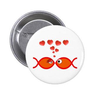 Christian Valentine Orange v2 Button