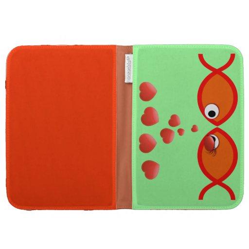 Christian Valentine Orange v2 Cases For Kindle