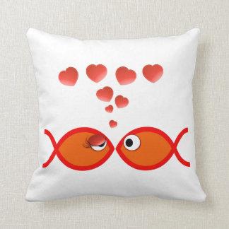 Christian Valentine Orange v2 Pillow