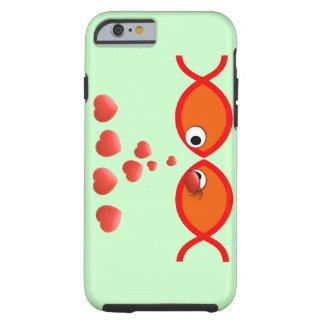 Christian Valentine Orange v2 Tough iPhone 6 Case