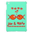 Christian Valentine Symbols - Orange v1 iPad Mini Case