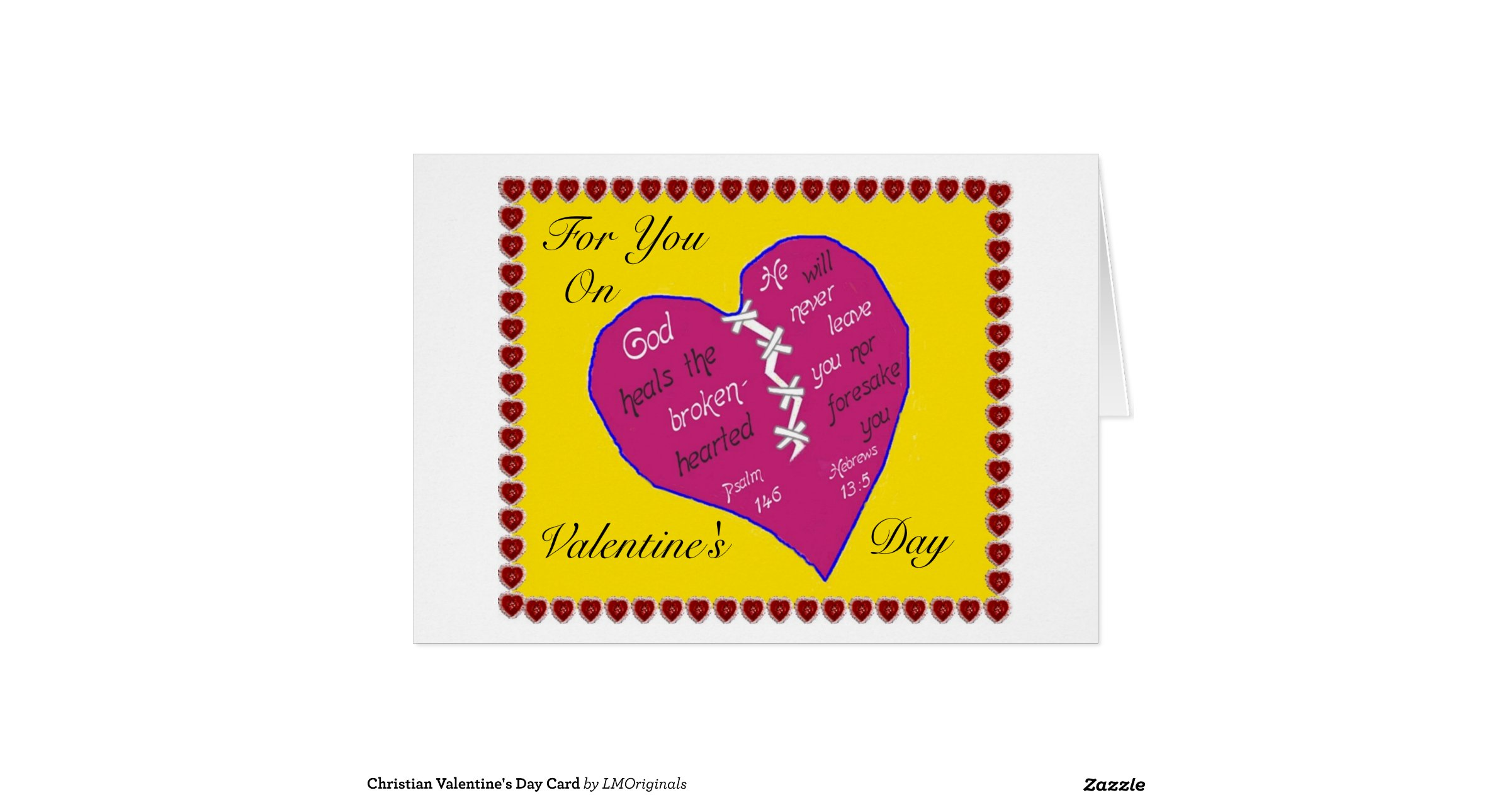 Christian Valentines Day Card