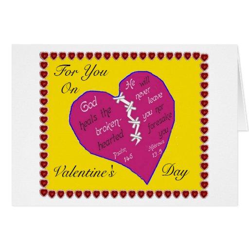 Christian Valentine S Day Card Zazzle
