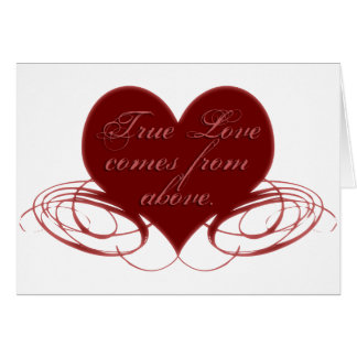 Christian Valentine's Day Cards, Tees & Gifts Card