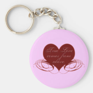 Christian Valentine's Day Cards, Tees & Gifts Key Chain