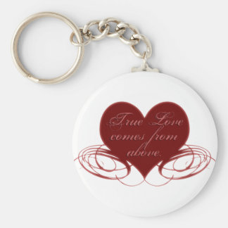 Christian Valentine's Day Cards, Tees & Gifts Keychain