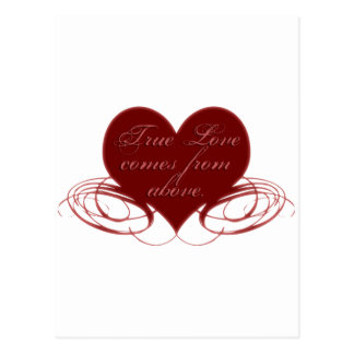 Christian Valentine's Day Cards, Tees & Gifts Postcard