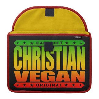 CHRISTIAN VEGAN - God Loves Plant-Based Believers MacBook Pro Sleeve