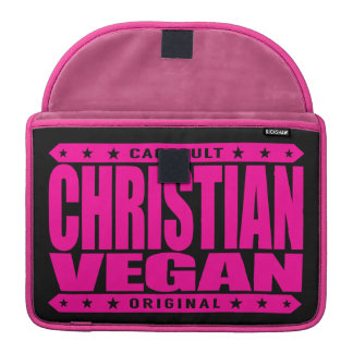 CHRISTIAN VEGAN - God Loves Plant-Based Believers Sleeve For MacBook Pro