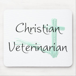 Christian Veterinarian Mouse Pad