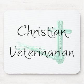 Christian Veterinarian Mouse Pad