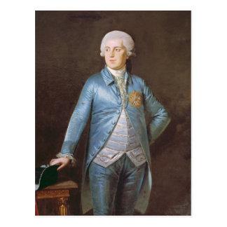 Christian VII  1788 Postcard