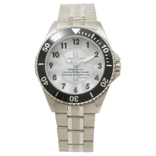 Christian Watch Custom Ordered