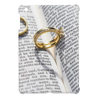 Christian wedding bible ministry iPad mini cover