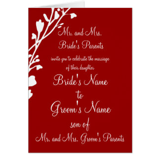 Christian Wedding Invitation-Two Are Better Card