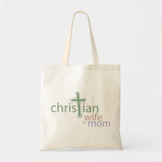 Christian Wife and Mom Budget Tote Budget Tote Bag