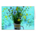 Christian Wildflowers Birthday Card