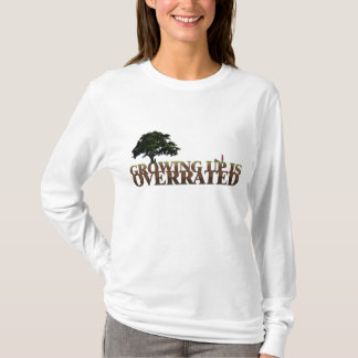 Christian womens hoodie - Growing up is Overrated