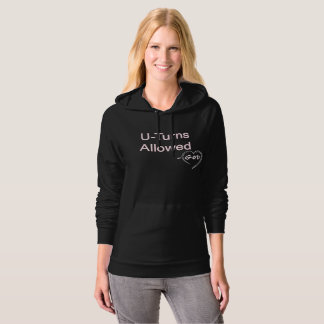 Christian Women's Hoodies U-Turns Allowed God