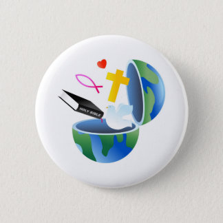 Christian World Button