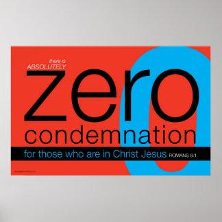 Christian Zero Condemnation Poster