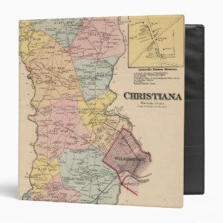 Christiana Vinyl Binder