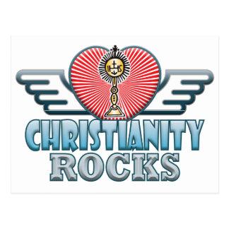 Christianity B Rocks Postcard