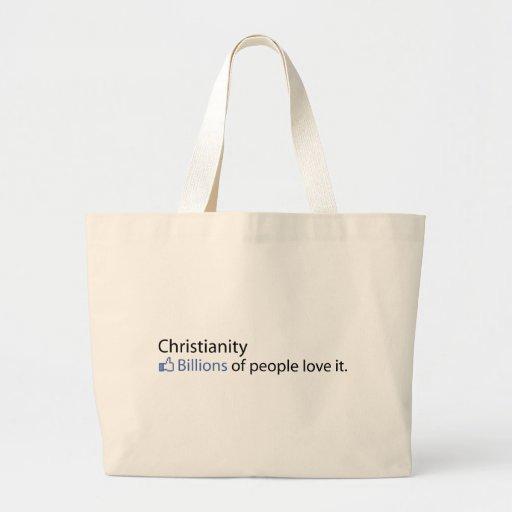 Christianity; Billions of People Love It Bag