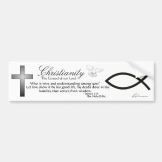 Christianity - Bumper Sticker