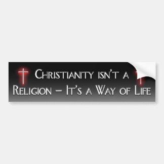 Christianity Bumper Sticker