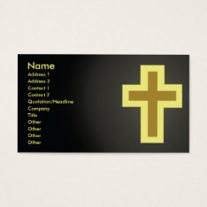 Christianity - Business Business Card at Zazzle