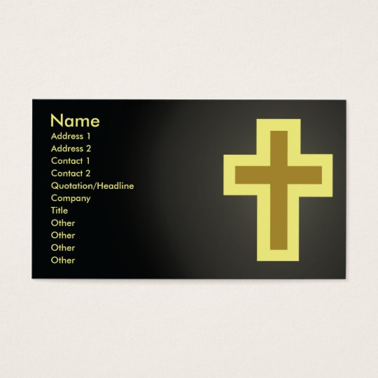 Christianity - Business Business Card