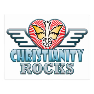 Christianity C Rocks Postcard