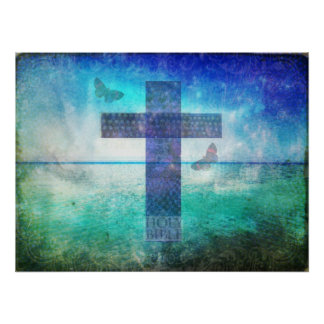 Christianity CROSS Meaningful Art Print