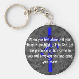 Christianity designs keychain