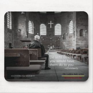 Christianity: Golden Rule Series Mouse Pad