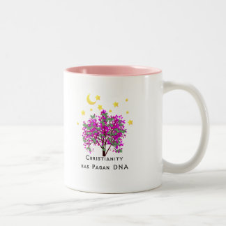 Christianity Has Pagan DNA Two-Tone Coffee Mug