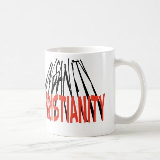 Christianity/Insanity Coffee Mugs