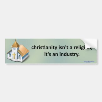 christianity isn't a religion...
