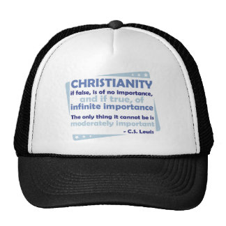Christianity - Of Infinite Importance Hat